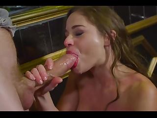Аспен и ее глотка порно